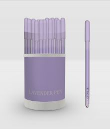 Lavender pen. Ручка в тубусе