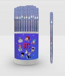 I love BTS. Ручка в тубусе (сиреневая)