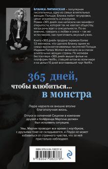 Обложка сзади 365 дней Бланка Липинская