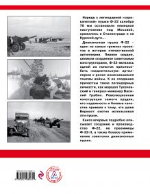 Обложка сзади Дивизионная пушка Ф-22 Дмитрий Дегтев, Дмитрий Зубов