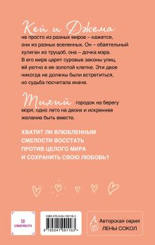 Обложка сзади Кей&Джема Лена Сокол