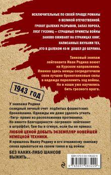 Обложка сзади Танкист из штрафбата Сергей Дышев