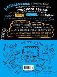 Обложка сзади Наглядный русский язык Е. В. Железнова