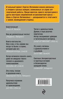 Обложка сзади Не только детектив Сергей Литвинов