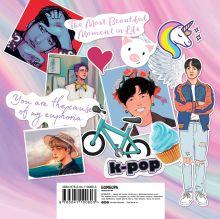 Обложка сзади The ARMY of K-POP stickers - 2. Больше 150 крутых наклеек!