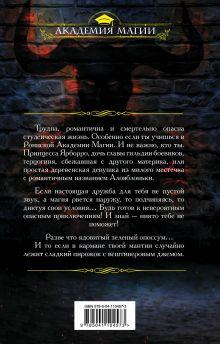 Обложка сзади Роннская академия магии. Кафедра зельеварения Тереза Тур