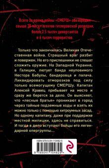 Обложка сзади Палач из Галиции Александр Тамоников