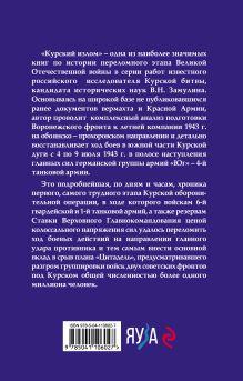 Обложка сзади Курский излом Валерий Замулин