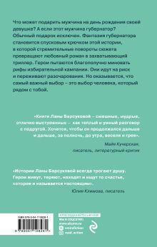 Обложка сзади Любовь и выборы Лана Барсукова