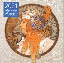Обложка Альфонс Муха. Календарь настенный на 2021 год (300х300 мм)