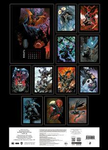 Обложка сзади Вселенная DC Comics. Настенный календарь-постер на 2021 год (315х440 мм)