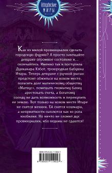 Обложка сзади Война за ведьмино наследство Маргарита Блинова