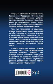 Обложка сзади Морпех. Малая земля Олег Таругин