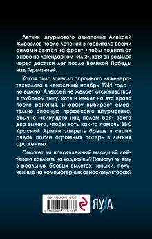 Обложка сзади Штурмовик. Крылья войны Алексей Цаплин