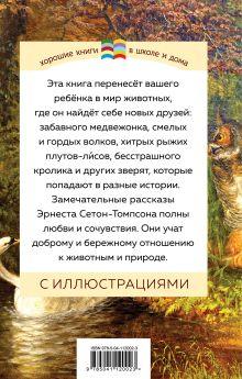 Обложка сзади Медвежонок Джонни. Лесные истории Эрнест Сетон-Томпсон