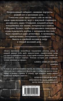 Обложка сзади Тайна Английского замка. Часть 2 Екатерина и Сергей Духины