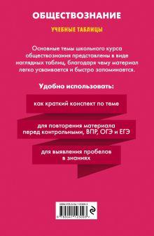 Обложка сзади Обществознание Р. В. Пазин, И. В. Крутова