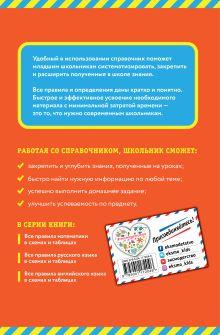 Обложка сзади Все правила математики: в схемах и таблицах И. С. Марченко