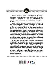 Обложка сзади Все танки мира: От зарождения до сегодняшнего дня. 1916-2021 Михаил Барятинский