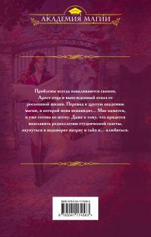Обложка сзади Скандал в академии магии. Интервью с ректором Екатерина Верхова