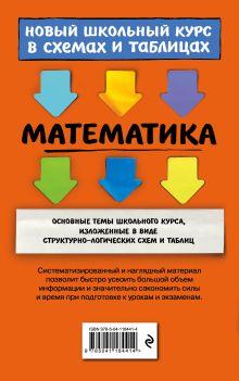Обложка сзади Математика И. В. Третьяк