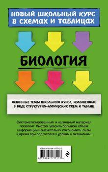 Обложка сзади Биология А. Ю. Ионцева