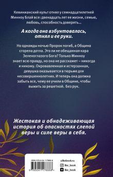 Обложка сзади Священная ложь Стефани Оукс