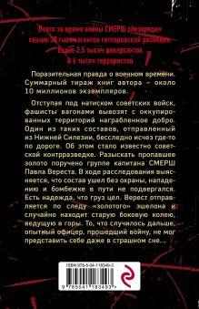 Обложка сзади Призрак со свастикой Александр Тамоников