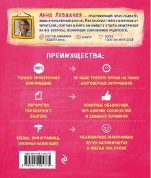 Обложка сзади Маме в помощь. Книги по питанию и уходу за малышом с первых дней жизни. Комплект из 2 книг: «Доктор аннамама, у меня вопрос: как ухаживать за ребенком?» и «Доктор аннамама, у меня вопрос: как кормить ребенка?»