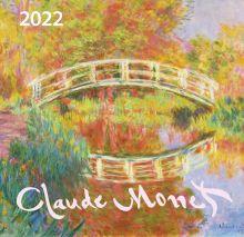 Клод Моне. Календарь настенный на 2022 год (170х170 мм)