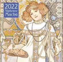 Обложка Альфонс Муха. Календарь настенный на 2022 год (300х300 мм)