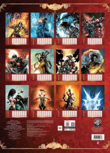 Обложка сзади Mortal Kombat. Настенный календарь-постер на 2022 год (315х440 мм)
