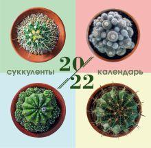 Суккуленты. Календарь настенный на 2022 год (300х300 мм)