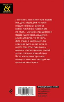 Обложка сзади Роковые камни Аркаима Елена Гордина
