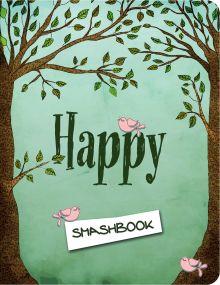 Happy (зеленый c наклейками)