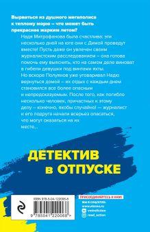 Обложка сзади Небесный остров Анна и Сергей Литвиновы