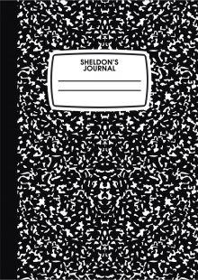 Блокнот-планер недатированный. Ежедневник Шелдона (А4, 36 л., на скобе)