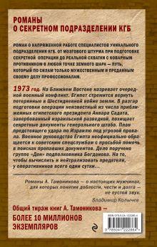 Обложка сзади Судный день Александр Тамоников