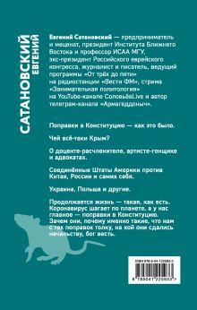 Обложка сзади Обрывок летописи года металлической крысы Евгений Сатановский