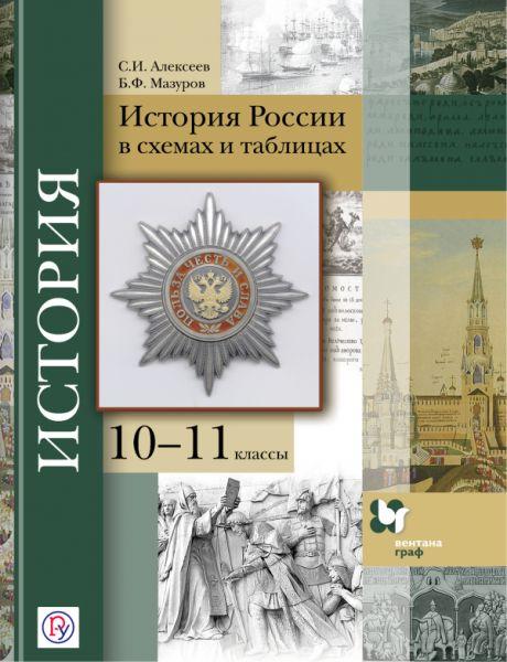 История России в схемах и таблицах. 10–11классы. Учебное пособие