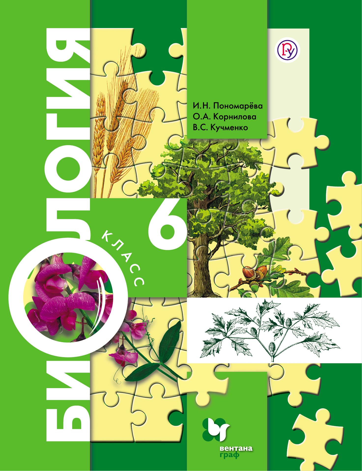 Глава 3 по биологии 6 класс органы цветковых растений пономарева учебник